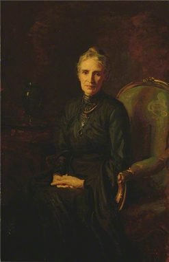 Portrait of the Artist's Mother   Reginald Grenville Eves   Oil Painting