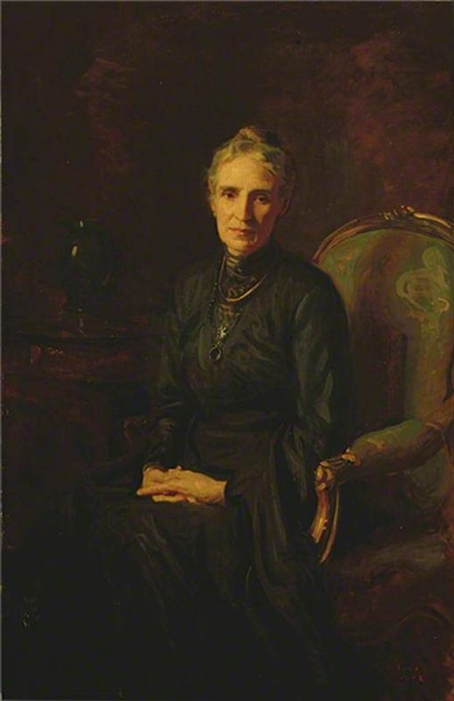 Portrait of the Artist's Mother | Reginald Grenville Eves | Oil Painting