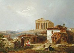 The Temple of Theseus | William James Muller | Oil Painting