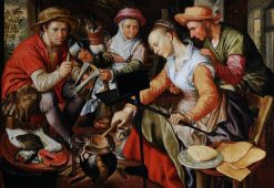 A Dutch Kitchen Scene | Joachim Beuckelaer | Oil Painting