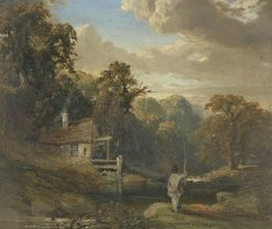 Askham Mill | Samuel Bough | Oil Painting