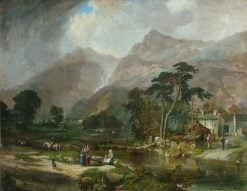 Borrowdale | Samuel Bough | Oil Painting