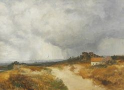 Landscape with Carlisle in the Distance | Samuel Bough | Oil Painting