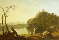 Dolbadarn Castle on a Summer Evening | Richard Wilson