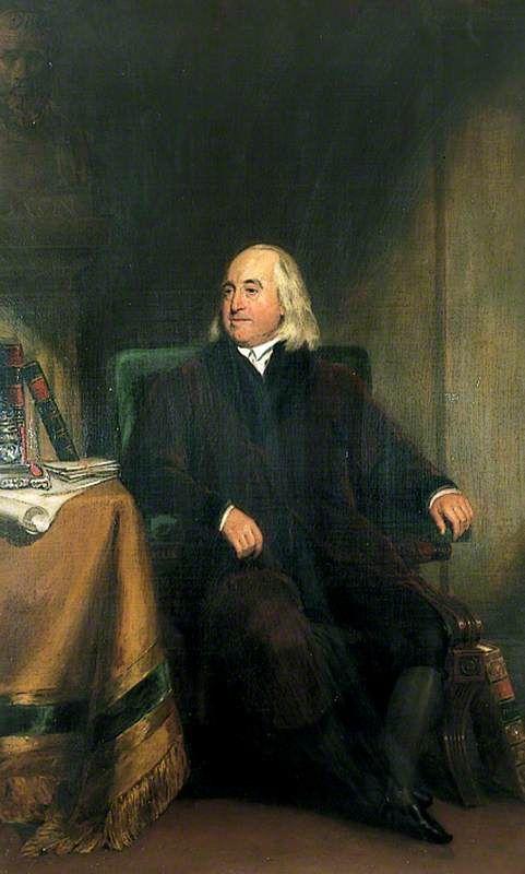 Jeremy Bentham (1748-1832) | Henry William Pickersgill | Oil Painting