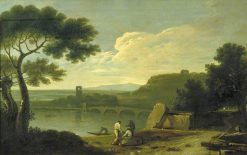 River Landscape | Richard Wilson