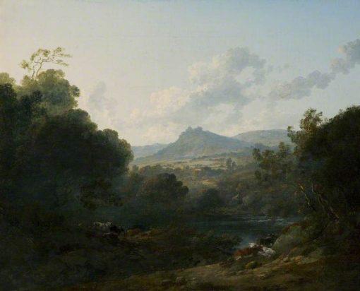 View of Beeston Castle