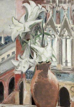 St Pancras Lilies | Paul Nash | Oil Painting