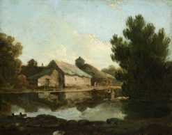 Farm with Pond | Richard Wilson