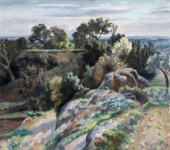 Valley of the Rhône | Roger Eliot Fry | Oil Painting