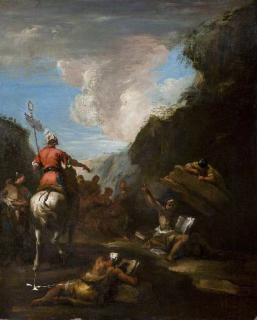 Archimedes and Hiero at the Siege of Syracuse | Sebastiano Ricci | Oil Painting