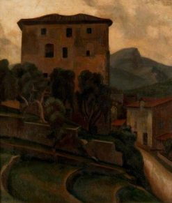Large House with Terrace | Roger Eliot Fry | Oil Painting