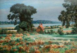 The Deben Estuary near Woodbridge | Roger Eliot Fry | Oil Painting