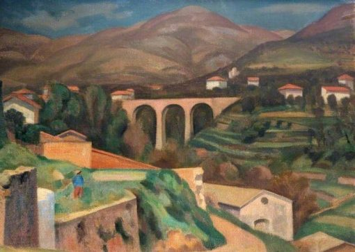 French Landscape | Roger Eliot Fry | Oil Painting