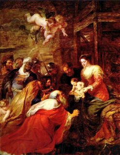 Adoration of the Magi | Peter Paul Rubens | Oil Painting