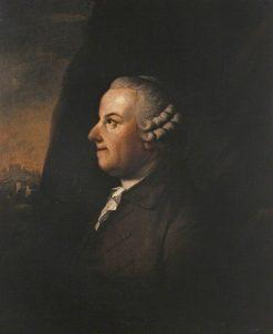 Thomas Gray (1716-1771) | Benjamin Wilson | Oil Painting