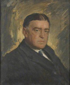 Ernest Shackleton (1874-1922) | Reginald Grenville Eves | Oil Painting