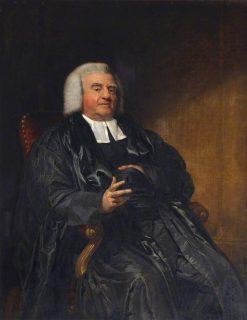 Portrait of Samuel Parr   George Dawe   Oil Painting