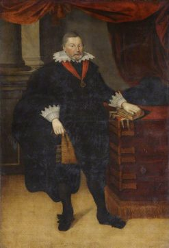 Portrait of Sir Ralph Hare