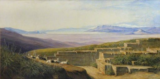 Argos from Mycene | Edward Lear | Oil Painting