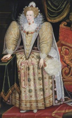 Portrait of Elizabeth I (1533-1603) | Marcus Gheeraerts the Younger | Oil Painting