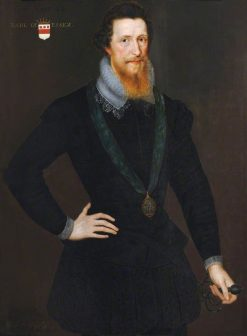 Portrait of Robert Devereux (1566-1601)