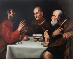 Meal at Emmaus | George Harcourt | Oil Painting