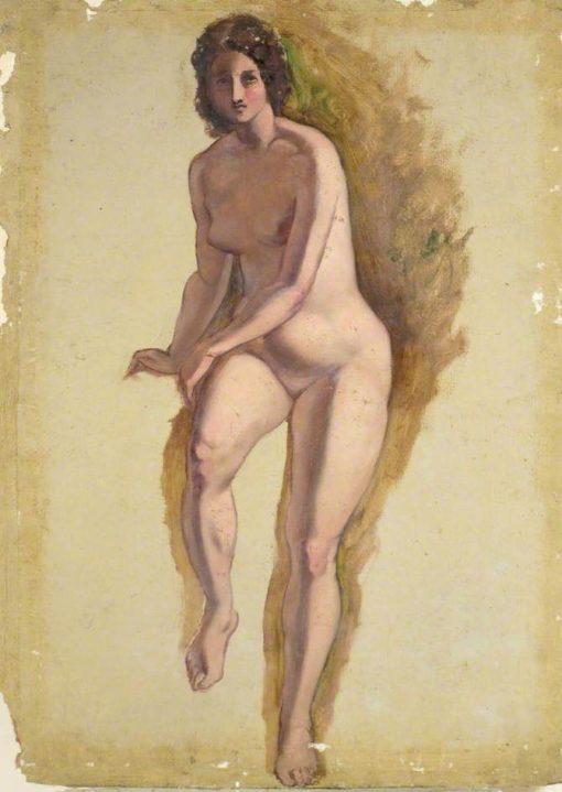 Female Nude | William Etty | Oil Painting