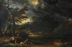 Land Storm | Gaspard Dughet | Oil Painting