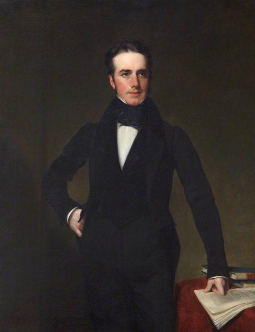 Captain Thomas Drummond (1797-1840) | Henry William Pickersgill | Oil Painting