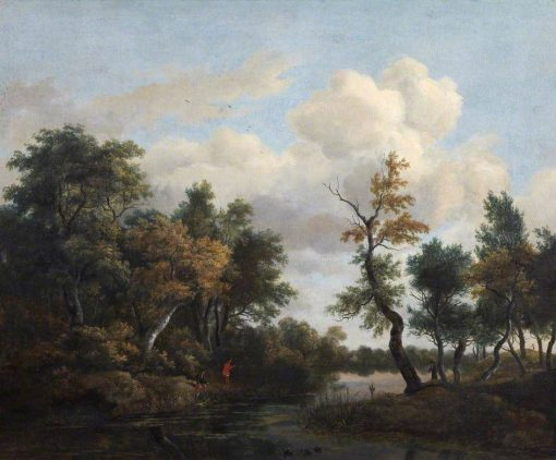 A Wood Scene | Jacob van Ruisdael | Oil Painting