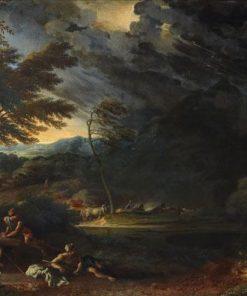 A Land Storm | Jan Frans van Bloemen | Oil Painting