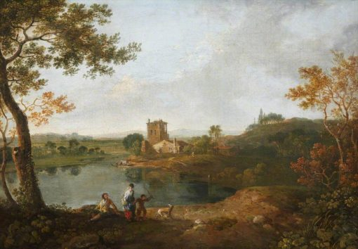 An Italian Landscape   Richard Wilson