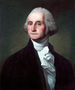 George Washington (1732-1799)   Gilbert Stuart   Oil Painting