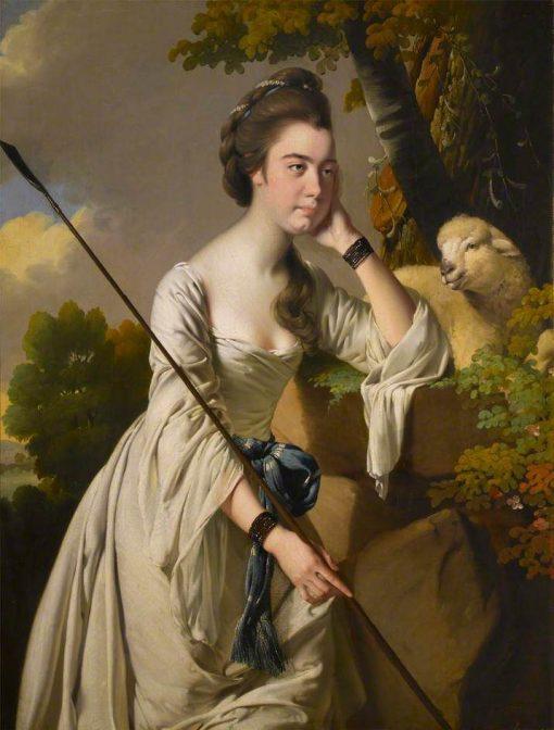 Anna Ashton | Joseph Wright of Derby | Oil Painting