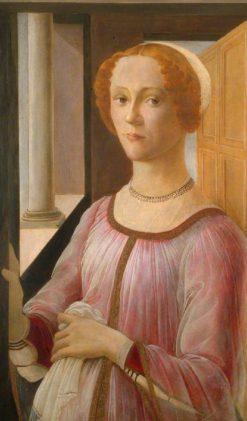 Smeralda Bandinelli (after Sandro Botticelli)   Christiana Herringham   Oil Painting