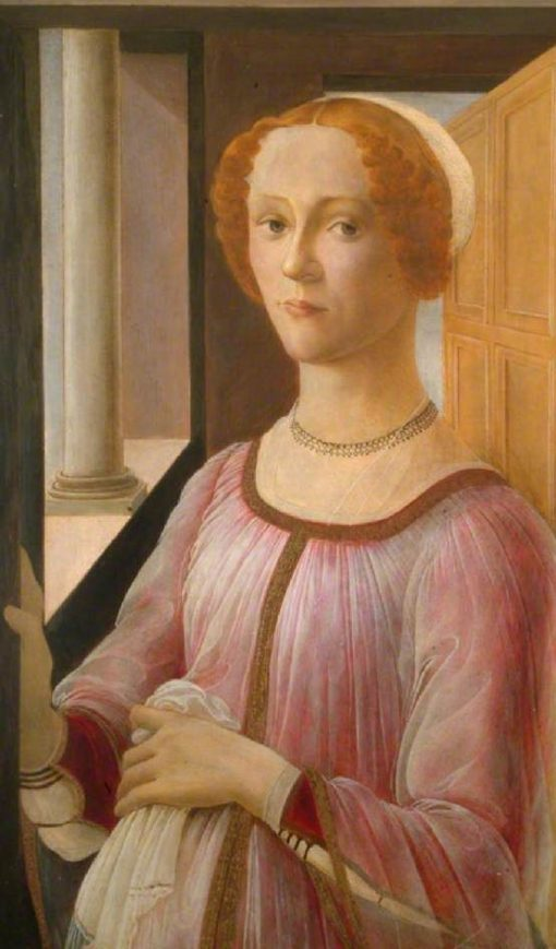 Smeralda Bandinelli (after Sandro Botticelli) | Christiana Herringham | Oil Painting