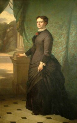 Jane Holloway | Ernest Gustave Girardot | Oil Painting