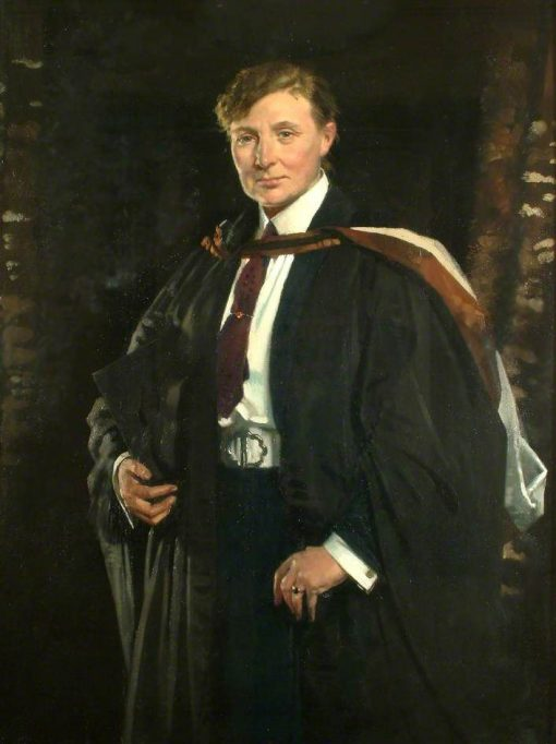 Miss Ellen Charlotte Higgins   Sir William Orpen   Oil Painting