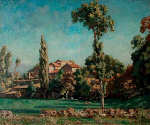 La fontaine noire | Roger Eliot Fry | Oil Painting