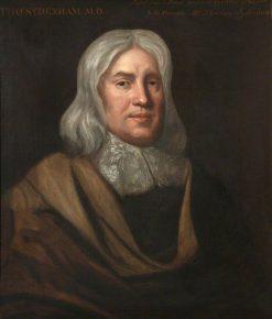 Thomas Sydenham (1624-1689) | John Jackson | Oil Painting