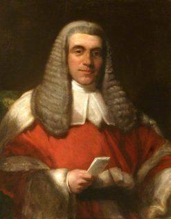 Sir John Taylor Coleridge (1790-1876) | Henry William Pickersgill | Oil Painting