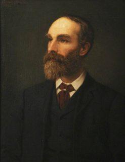 Richard Lewis Nettleship (1846-1892)   Ernest Gustave Girardot   Oil Painting