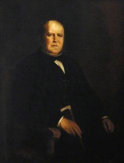 Sir Robert Burnett David Morier (1826-1893) | Franz von Lenbach | Oil Painting