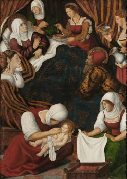 Birth of the Virgin | Jacopo Bassano | Oil Painting