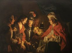 Christ Before Annas | Matthias Stomer | Oil Painting
