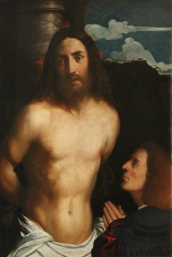 Christ at the Column | Palma il Vecchio | Oil Painting