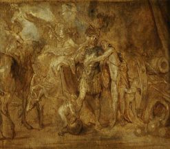 Mars Going to War | Anthony van Dyck | Oil Painting