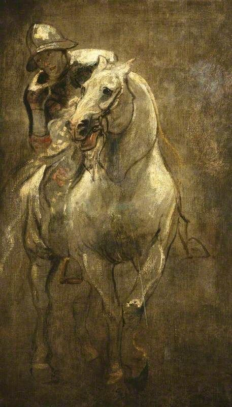 A Soldier on Horseback   Anthony van Dyck   Oil Painting