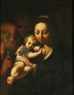 The Holy Family | Bartolomeo Schedoni | Oil Painting